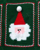 Jolly Santa Afghan and Pillow Crochet Pattern