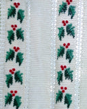 Festive Hollies Afghan and Pillow Pattern