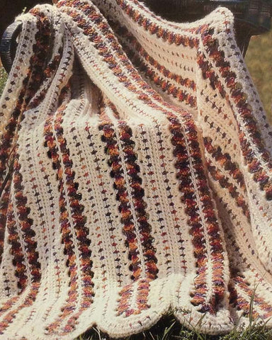 Indian Summer Afghan Crochet Pattern - Maggie's Crochet