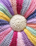 Scrap Fan Afghan and Pillow Crochet Pattern - Maggie's Crochet
