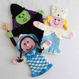 Storybook Puppets: Wizard of Oz Set 1 Pattern - Maggie's Crochet