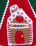 Gingerbread Tree Skirt Crochet Pattern