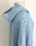 Long Hooded Cape Crochet Pattern - Maggie's Crochet