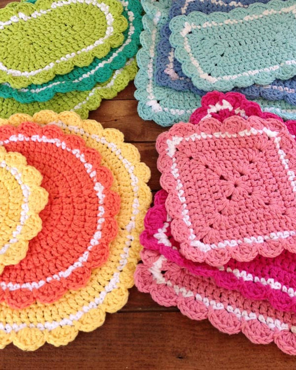 20 Hot Pad Crochet Patterns