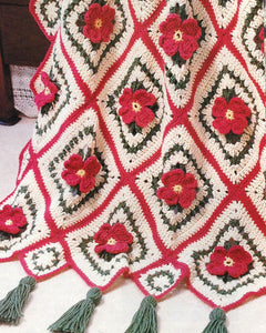 Apple Blossom Afghan Crochet Pattern - Maggie's Crochet