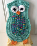 Owl Kitchen Set Crochet Pattern - Maggie's Crochet
