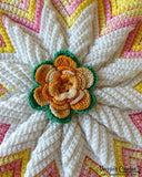 Scrap Potholders and Mats Set Crochet Pattern