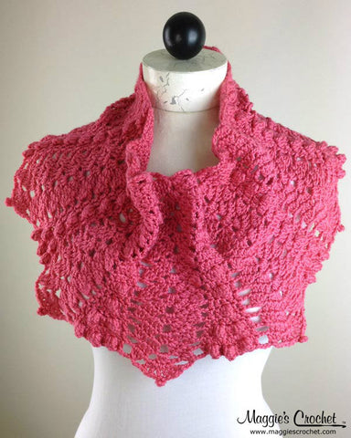 Lacy Cowls Crochet Pattern Set PDF Download