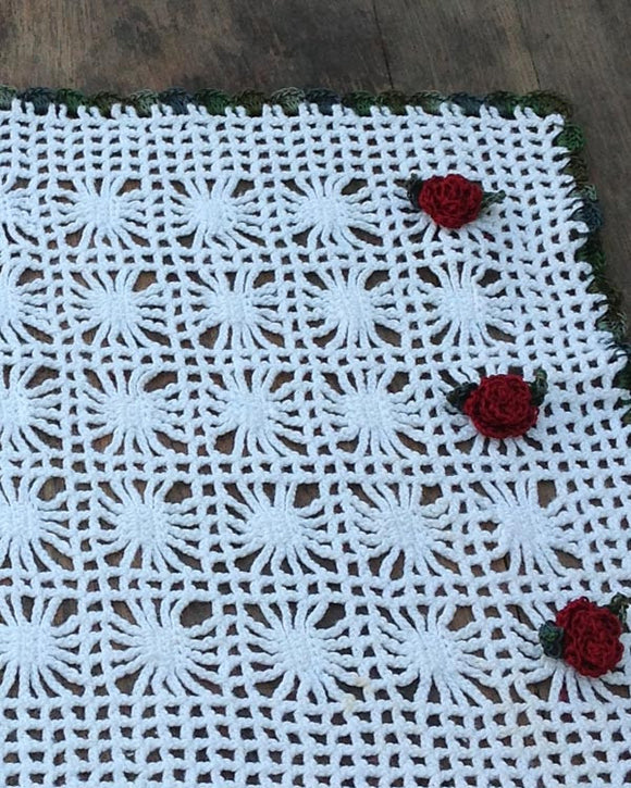Spider Lace Table Set Crochet Pattern - Maggie's Crochet