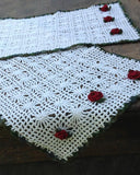 Spider Lace Table Set Crochet Pattern