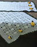 crochet yellow daffodil