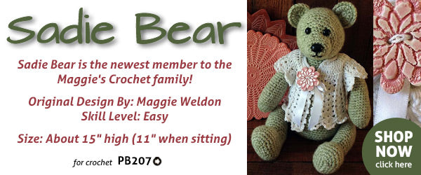 Sadie Bear Crochet Pattern