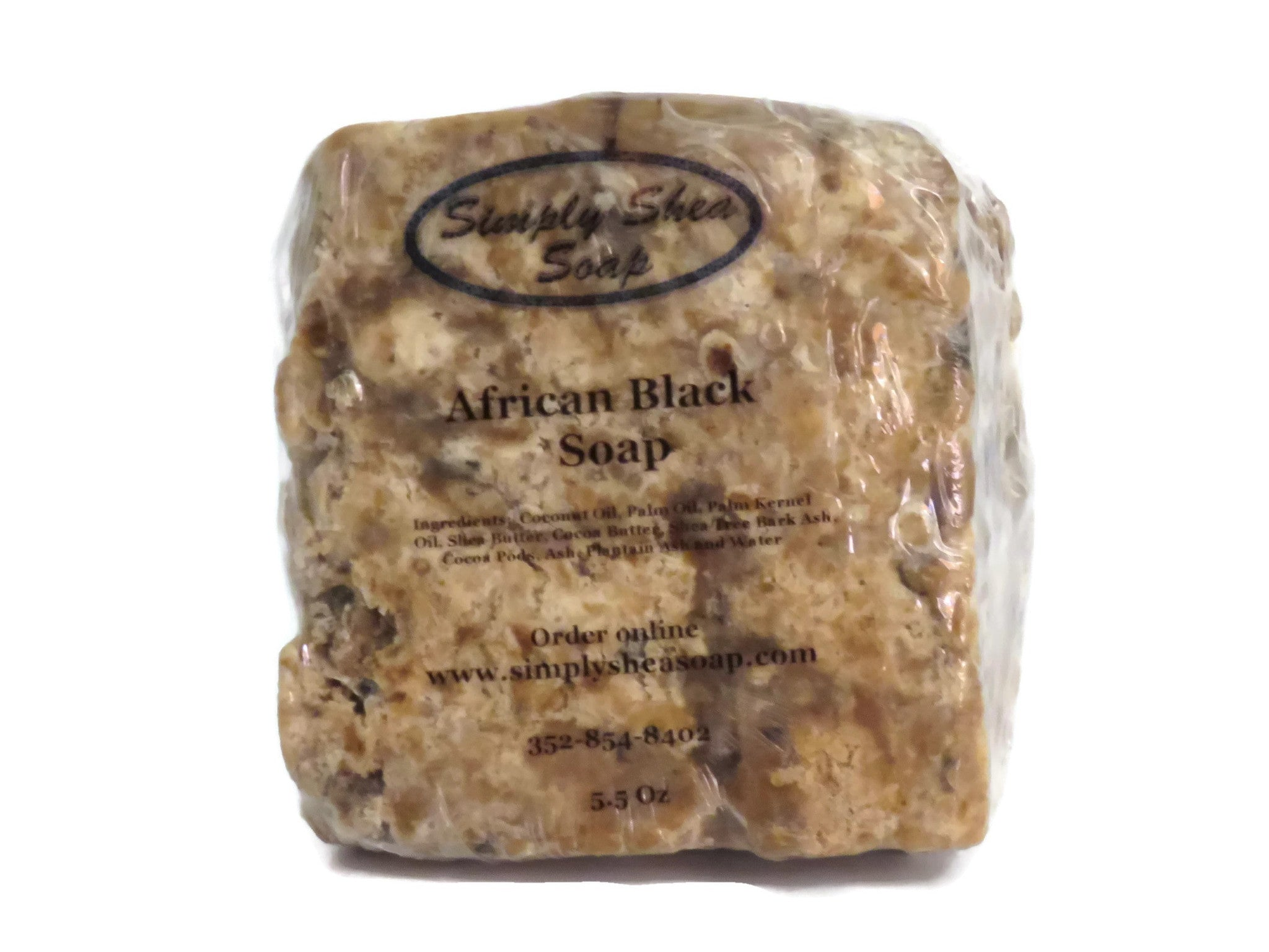 African Black Soap 1 Bar