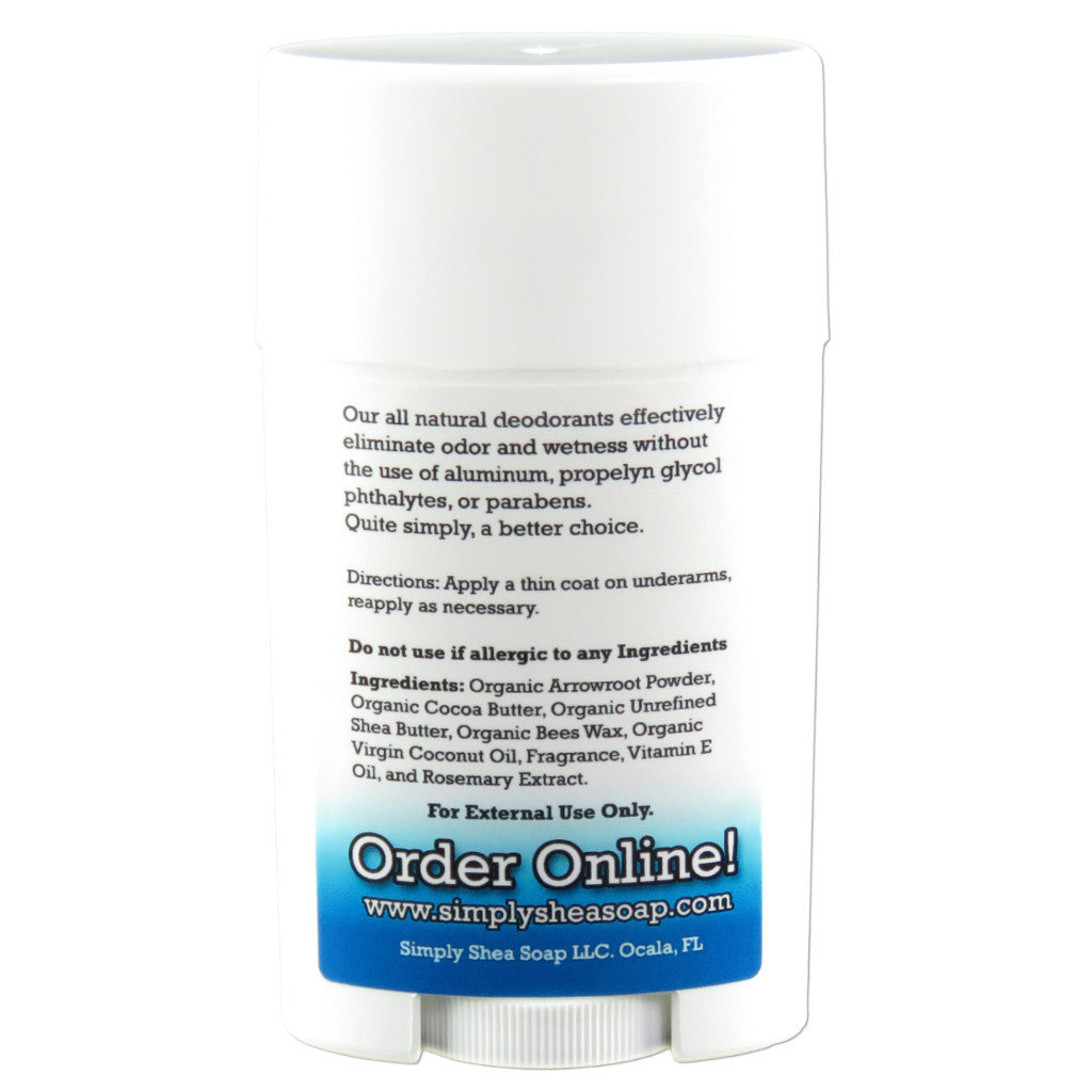 Natural Aluminum Free Deodorant Baby Powder