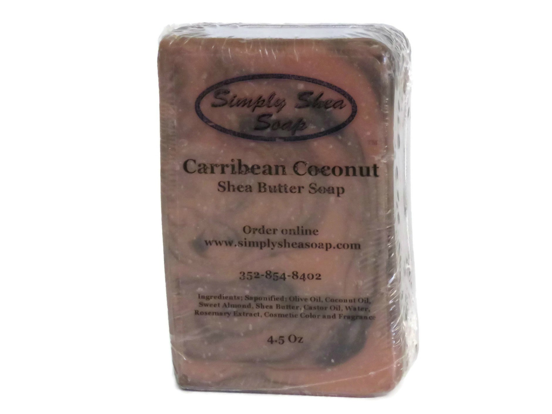 Caribbean Coconut with Morrocan Red Clay