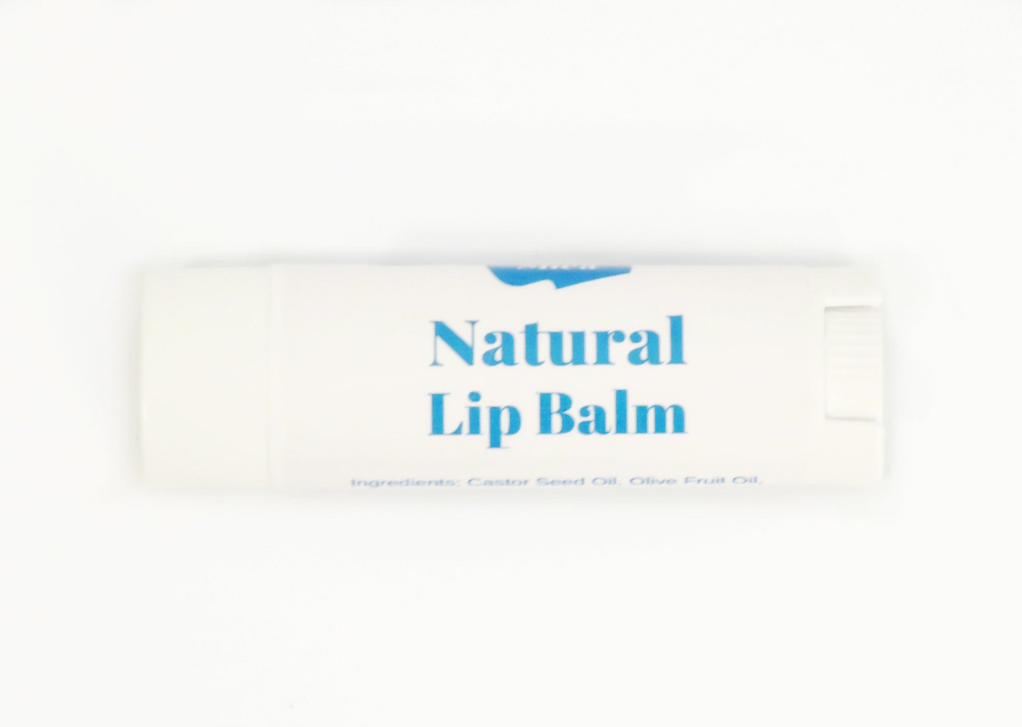 Natural Unscented Lip balm with Organic Argan Oil