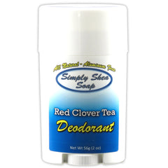 Natural Aluminum Free Deodorant Red Clover Tea