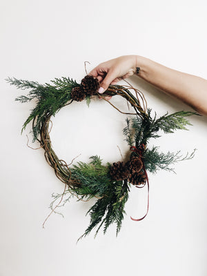 Winter Wreath Workshop - Admission