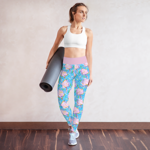 IceCream Yoga Leggings