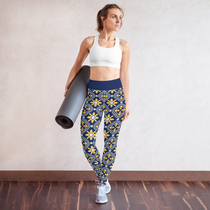 Stylish Ornaments Yoga Leggings