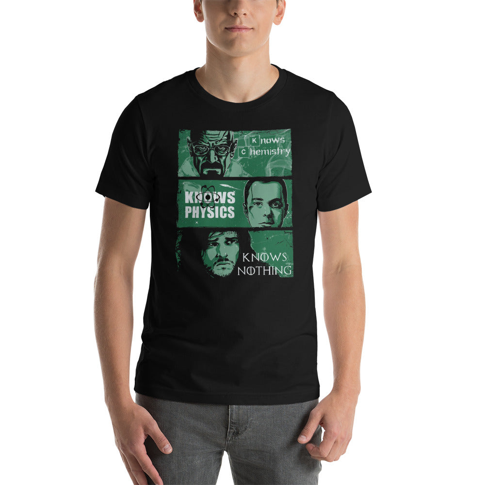 Knowledge Rules Unisex T-Shirt