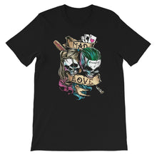Load image into Gallery viewer, Mad Love Jokkeer & Harlquin Unisex T-Shirt