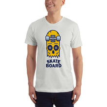 Load image into Gallery viewer, Skate Board Skull T-Shirt