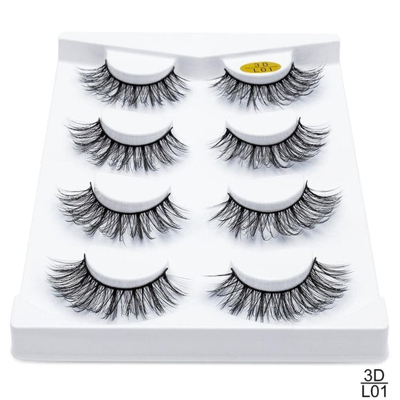 Sexysheep Natural Lashes 4pk