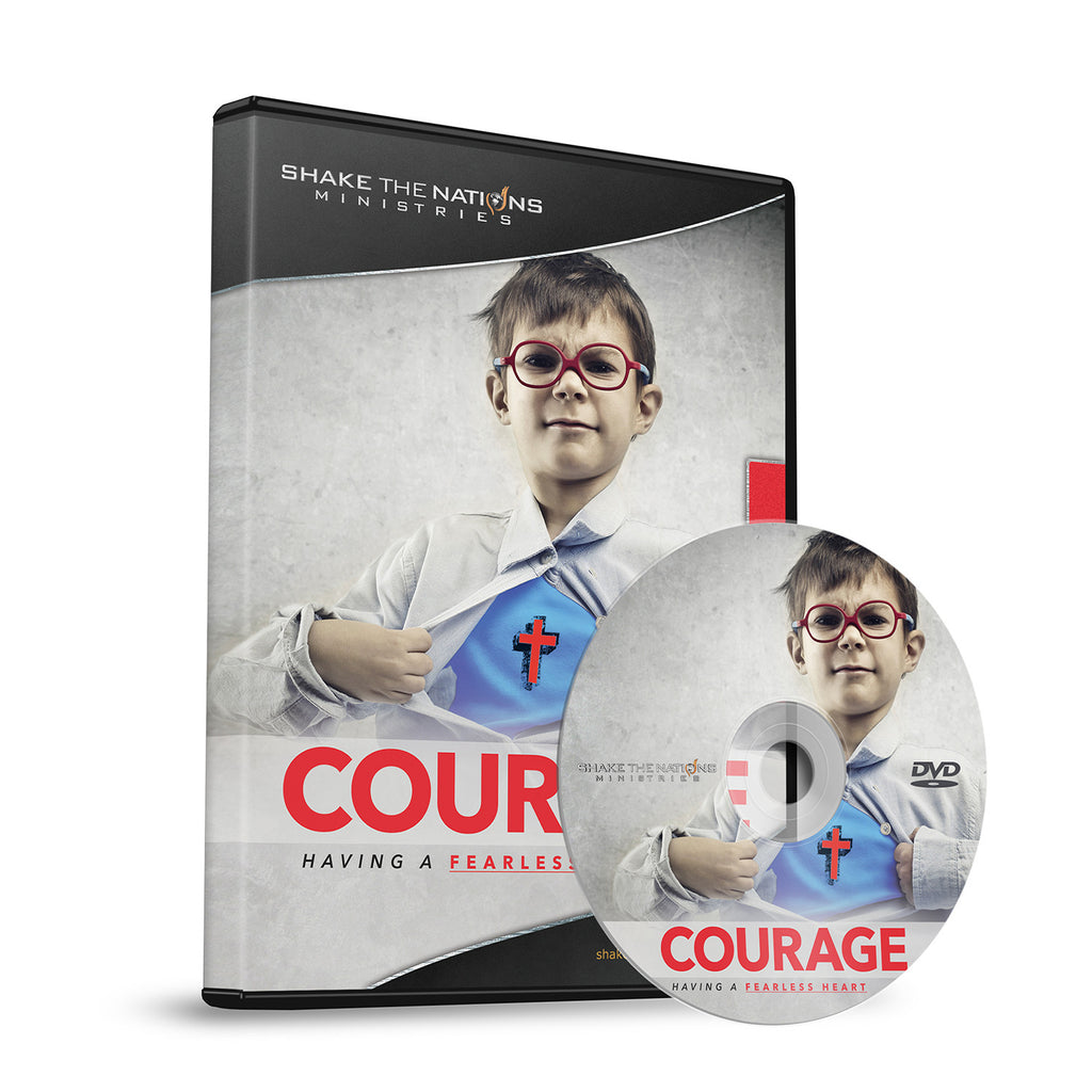 Courage: Having A Fearless Heart | Lydia S. Marrow (DVD)