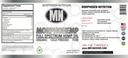 MORPHOHEMP - Full Spectrum Hemp Oil