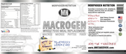 MACROGEN - Whole Food Meal Replacement