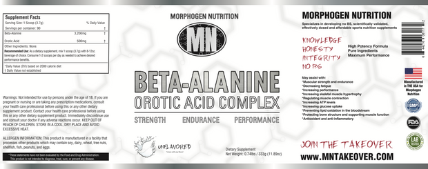 BETA-ALANINE - OROTIC ACID COMPLEX