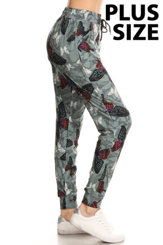Butterfly Joggers - Plus Sizes