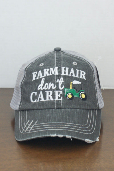 Farm Hair Don't Care Cap