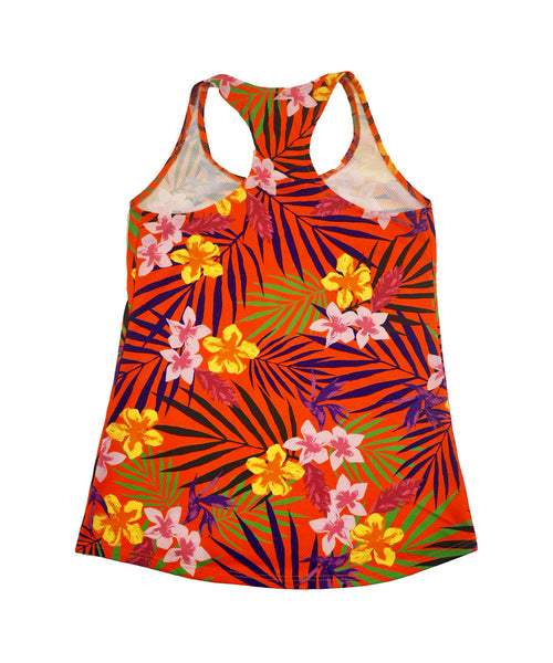 Hibiscus Business Women's Tank