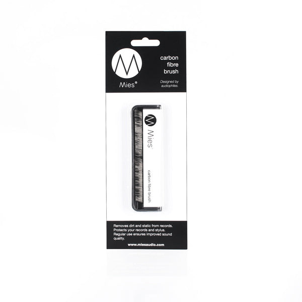 Mies Carbon Fibre Record Cleaning Brush