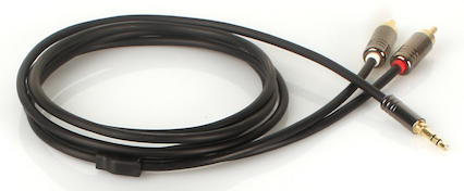 Mies RCA - 3.5mm Stereo Interconnect Cable (1.5m)