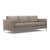 Beige modern fabric sofa