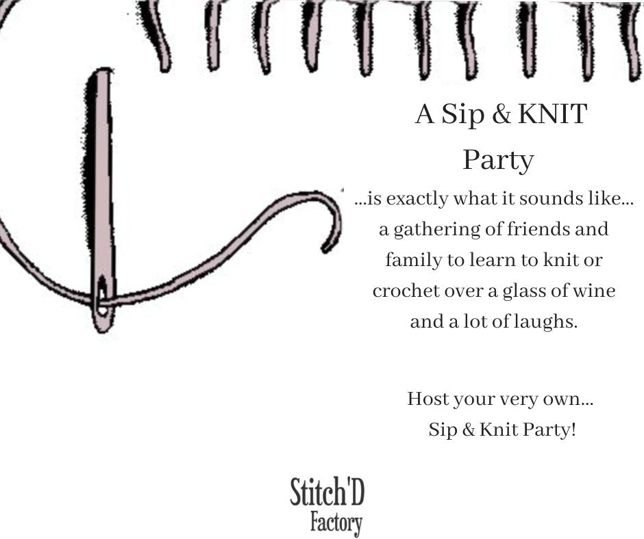 Sip & KNIT Party