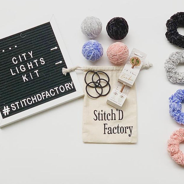 DIY . . . City Lights Scrunchie Kit