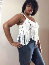 Load image into Gallery viewer, Pattern . . . The Honey Fringe Top
