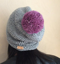 Load image into Gallery viewer, Slouchy Knit Beanie Hat // THE WILLIAMSBURG BEANIE