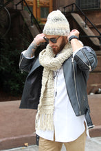 Load image into Gallery viewer, UpTown meets DownTown Set ... Beanie & Scarf