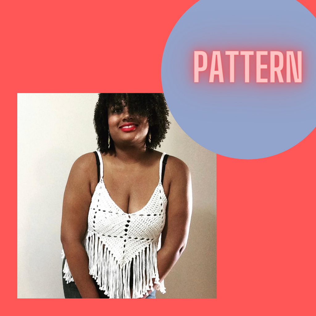 Pattern . . . The Honey Fringe Top
