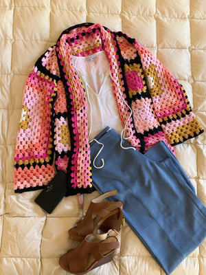 The Co-Vi Cardi . . . Cardigan