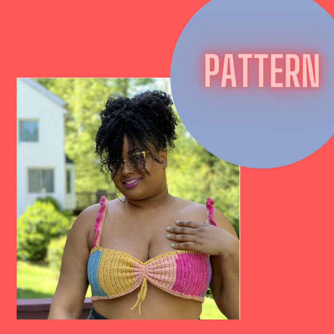 Pattern . . . The Cove Crop  Top