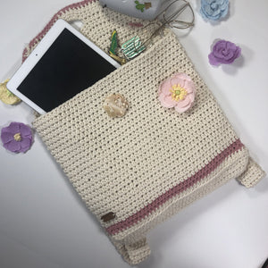 mochila crochet backpack