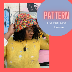 Pattern... The High Line . . . Beanie