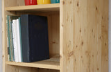 Modern pine shelving unit