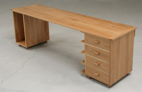 Solid Oak Desk Set